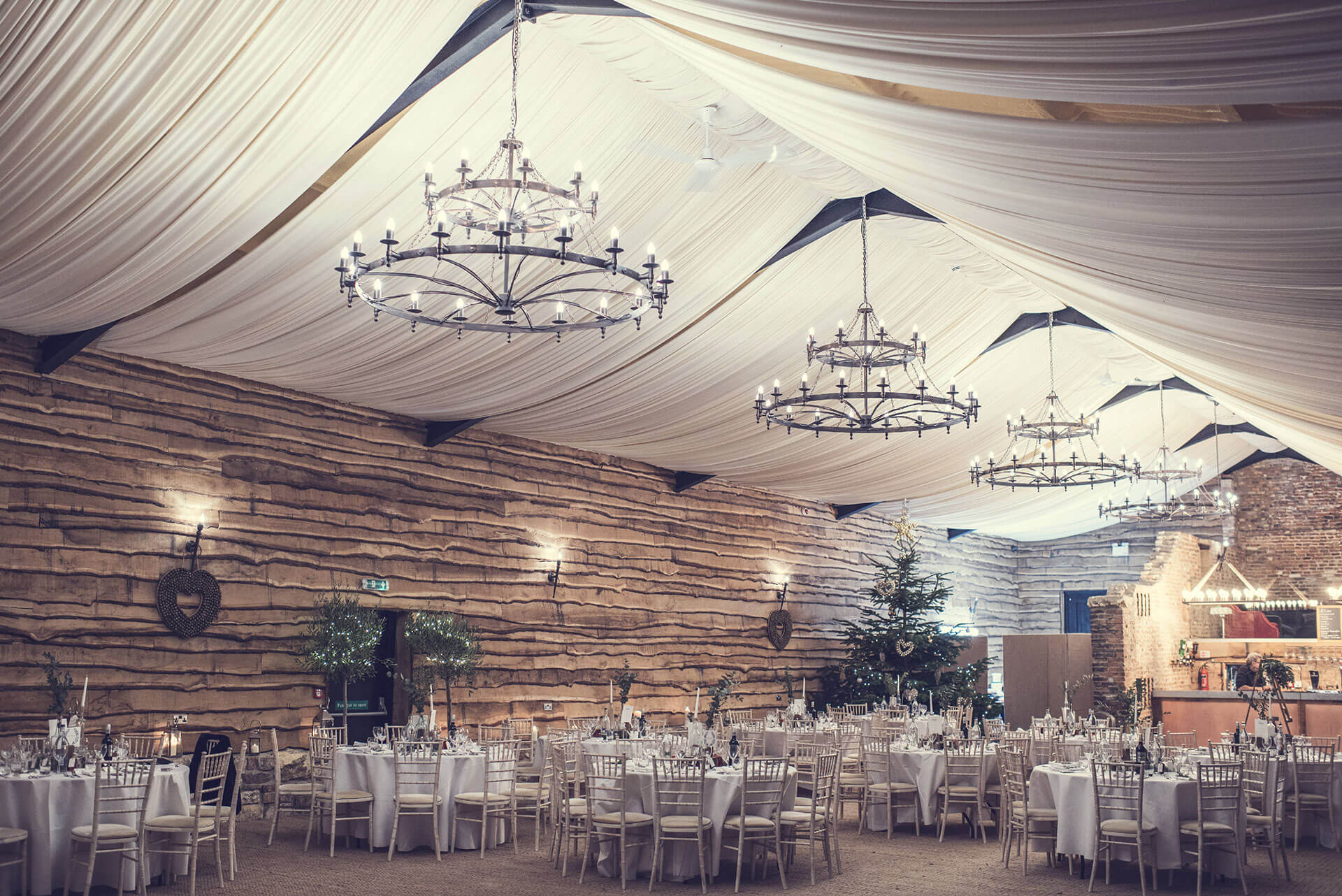 "The beautiful barn set up for Sarah & Matt's special day. Photography courtesy of Ben Robinson <a href=""http://www.thomasthomasphotography.co.uk/"" target=""_blank"">http://www.thomasthomasphotography.co.uk/ </a>"