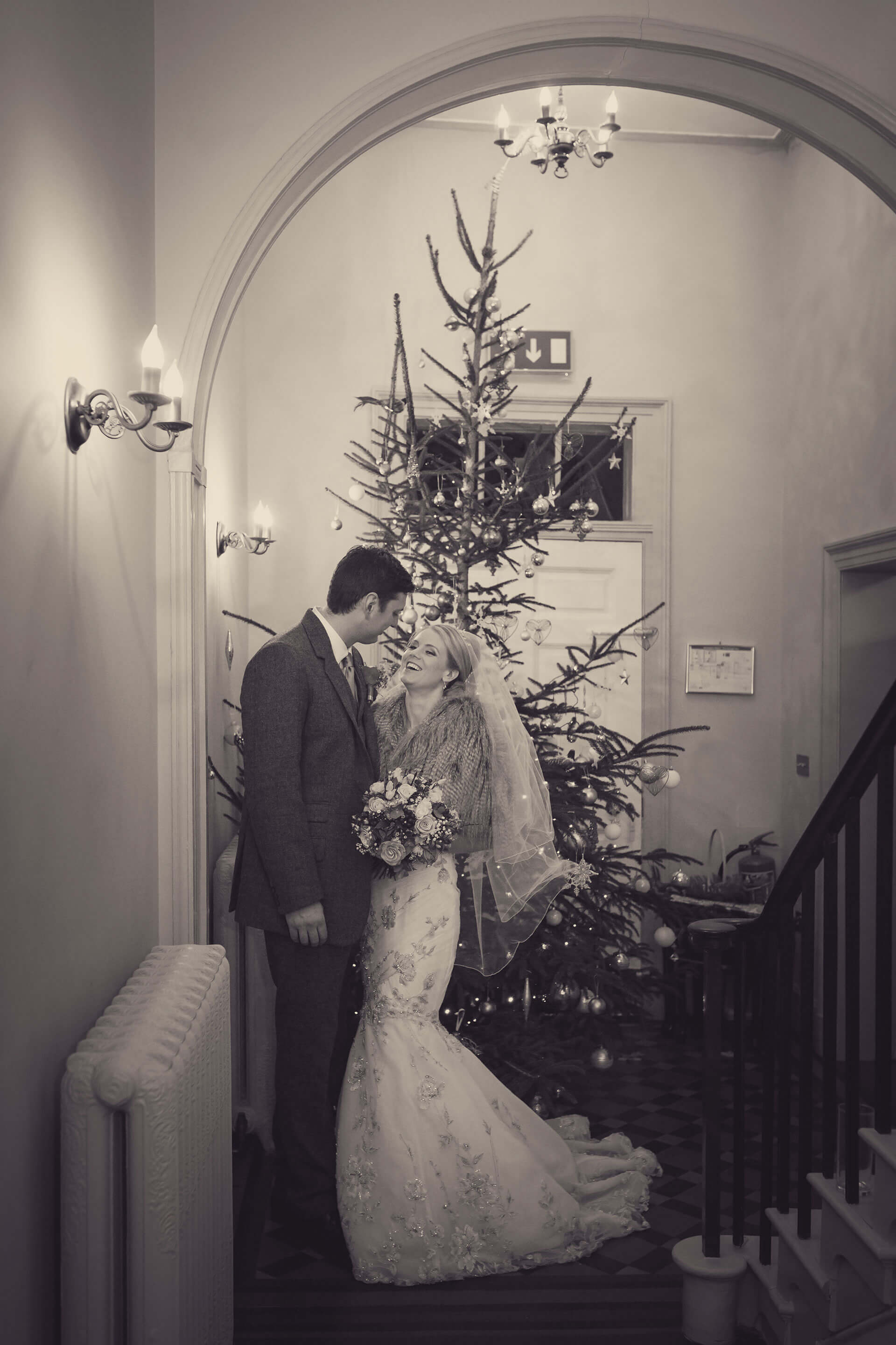 "Leanne and Chris had a wonderfully festive wedding. Photography by <a href=""http://www.lissaalexandraphotography.com/"" target=""_blank"">Lissa Alexandra Photography</a>."