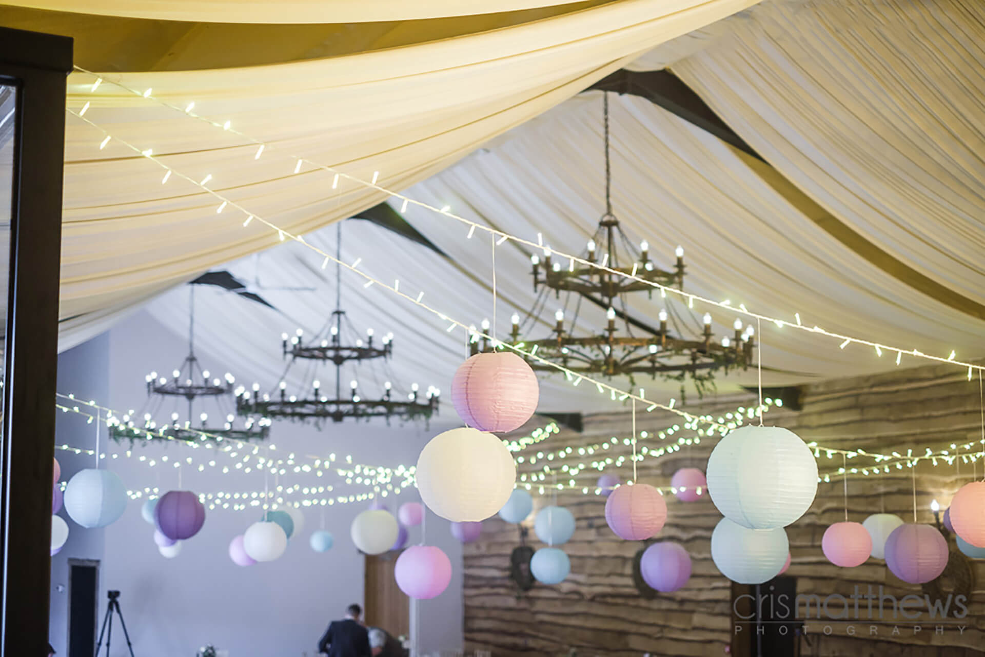 "Pastel perfection from Rachael and Dan's wedding, captured by <a href=""http://www.crismatthews.com/"">Chris Matthews Photography</a>"
