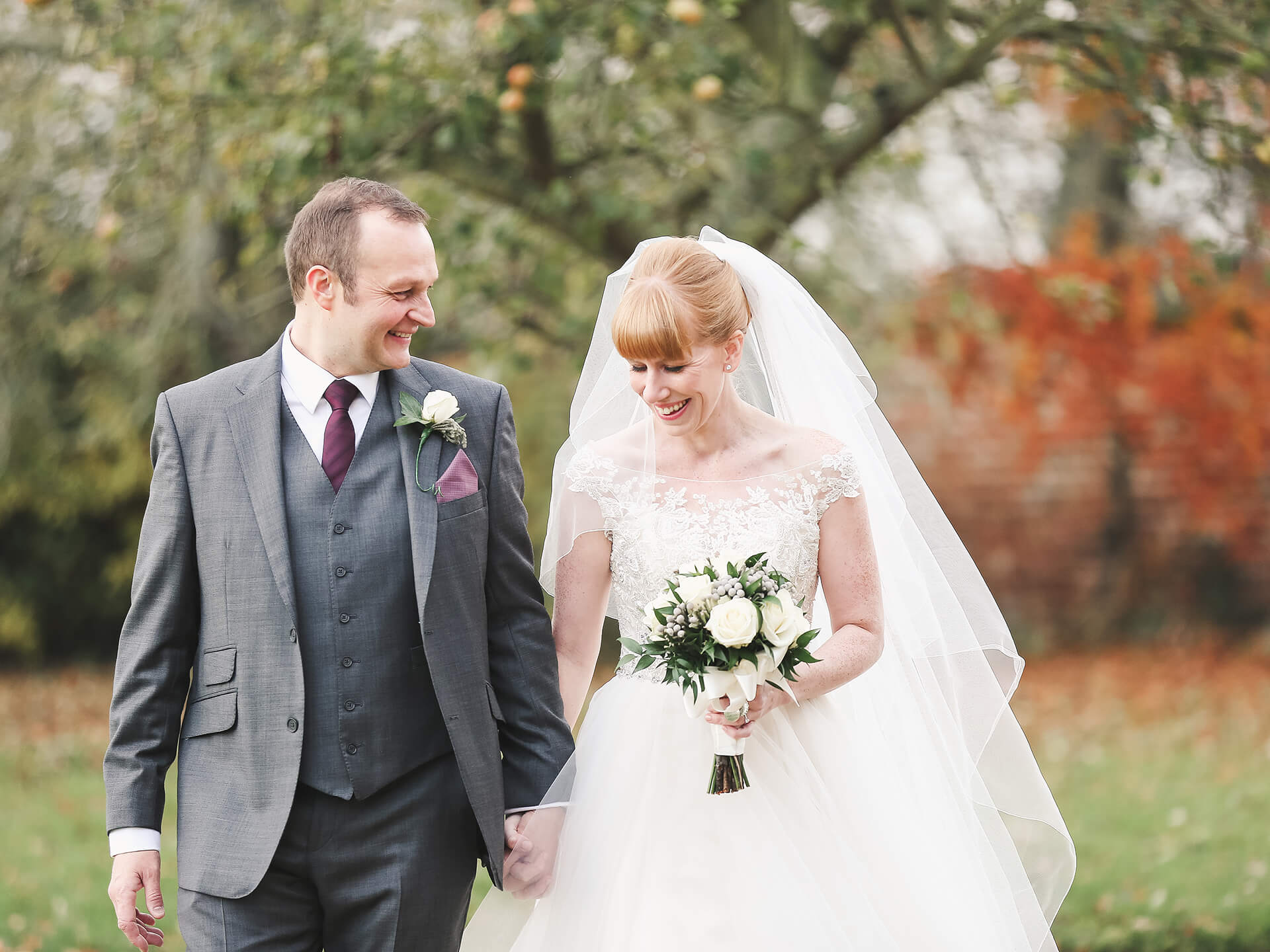"Mr and Mrs Hicks, curtesy of <a href=""http://www.creamphotography.co.uk/"" target=""_blank"">Cream Photography</a>."