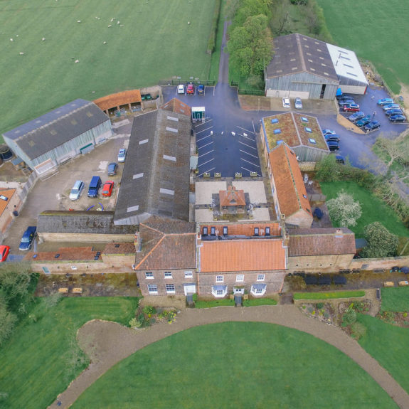 Hornington Manor Aerial -1