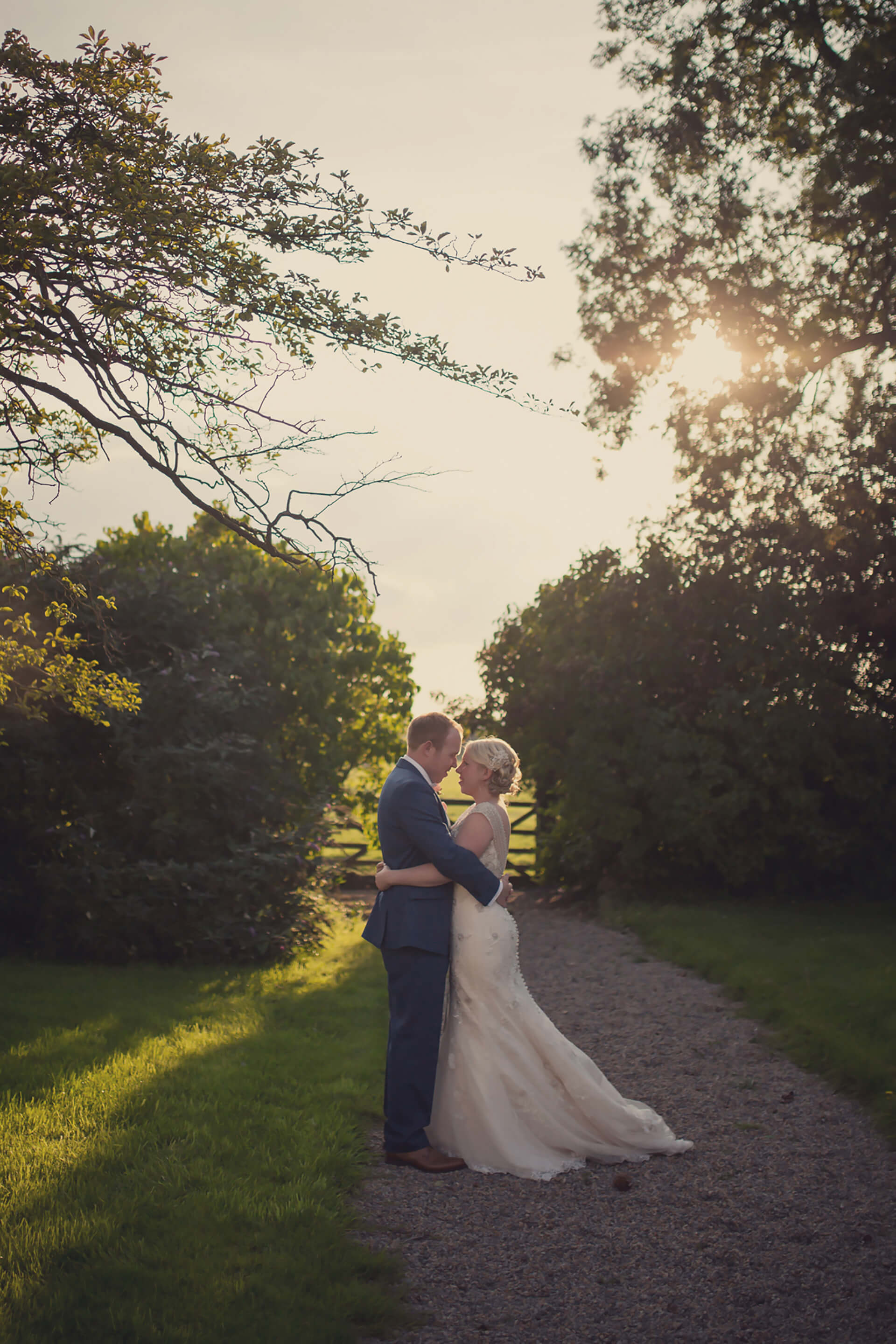 "<a href=""http://www.lissaalexandraphotography.com/"" target=""_blank"">Lissa Alexandra Photography</a> capturing a beautiful moment between bride and groom."