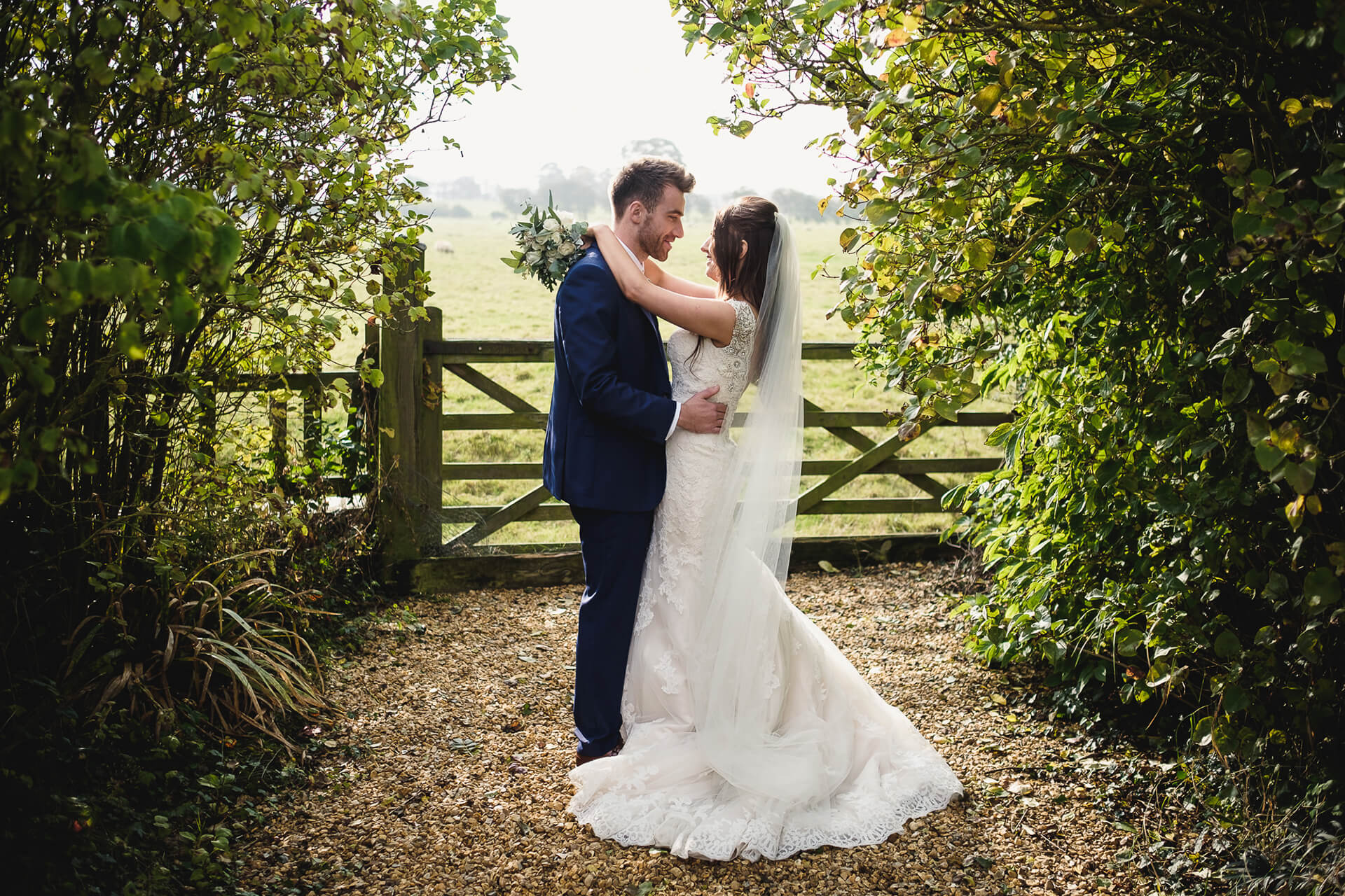 "Callie and George looking stunning, captured by <a href=""http://www.mjhstudio.co.uk/"" target=""_blank"">Mark J Hillyer</a>."