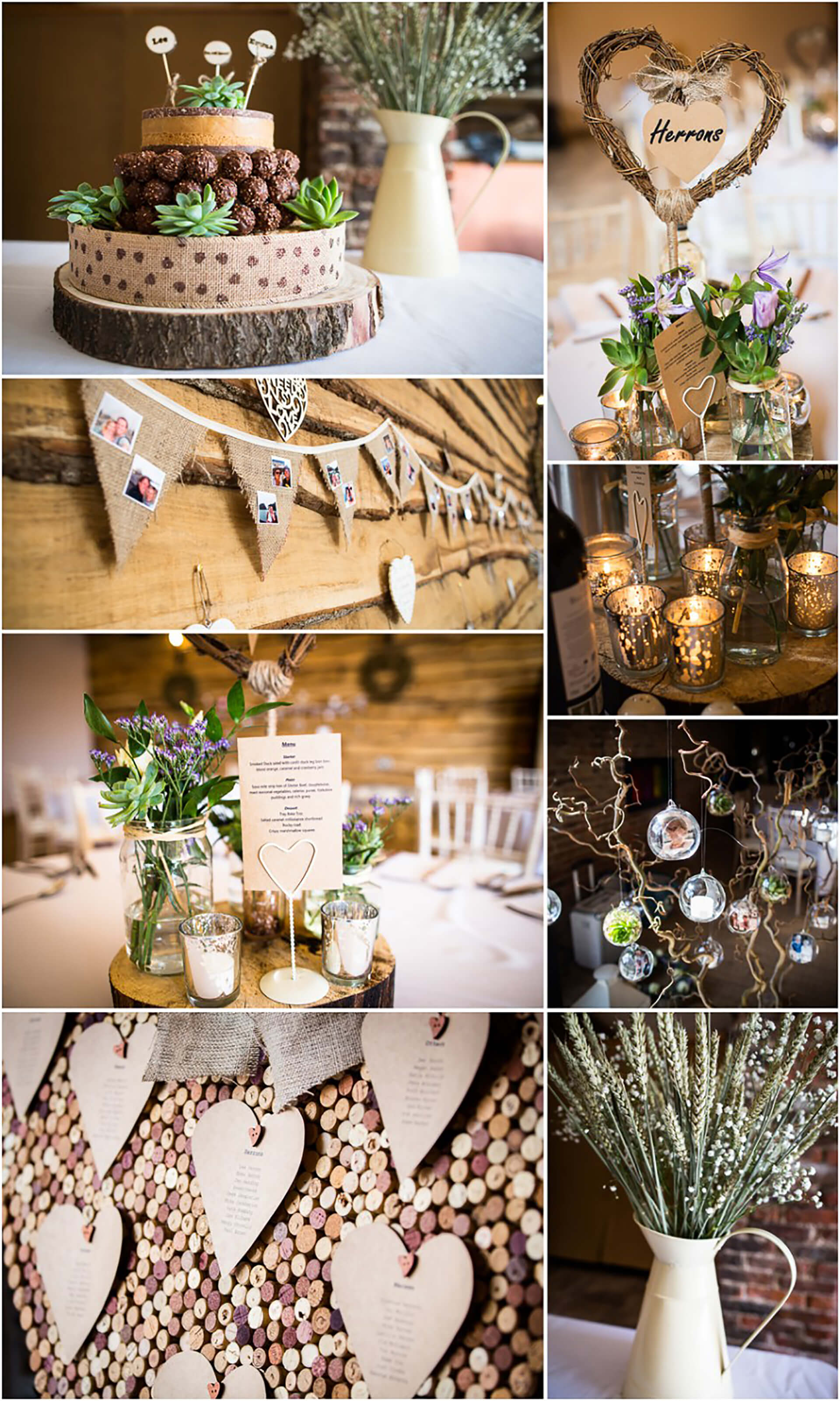 "A beautiful collage from Emma and Lee's wedding curtesy of <a href=""http://www.kmattssonphotography.com/"" target=""_blank"">Kirsty Mattsson</a>."